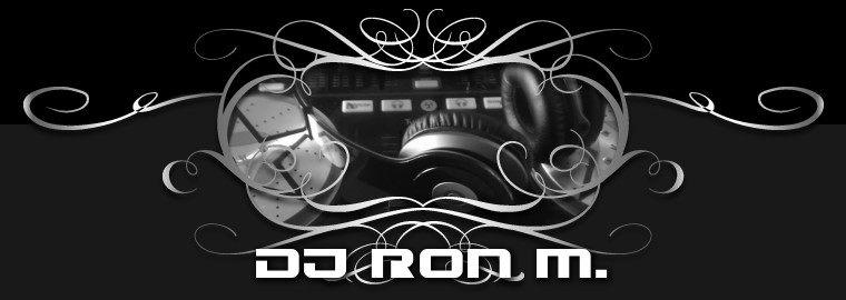 DJ Ron M. Custom Shirts & Apparel